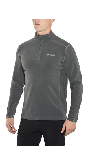 Columbia Klamath Range II Half Zip Men Charcoal